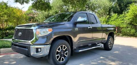 2015 Toyota Tundra for sale at Motorcars Group Management - Bud Johnson Motor Co in San Antonio TX