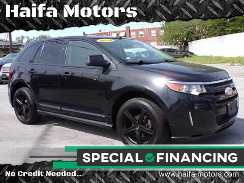 2014 Ford Edge for sale at Haifa Motors in Philadelphia PA