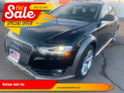 2013 Audi Allroad for sale at Nations Auto Inc. in Denver CO