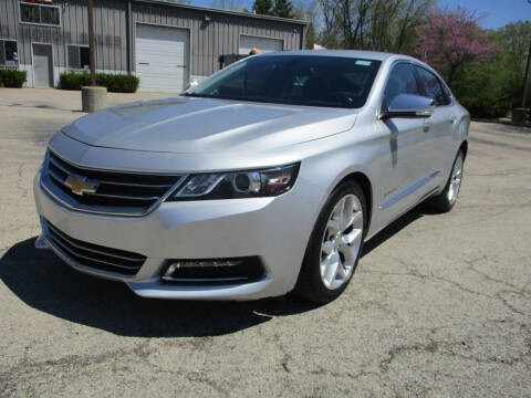 2019 Chevrolet Impala for sale at Triangle Auto Sales in Elgin IL