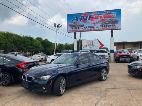 2017 BMW 3 Series for sale at ANF AUTO FINANCE in Houston TX