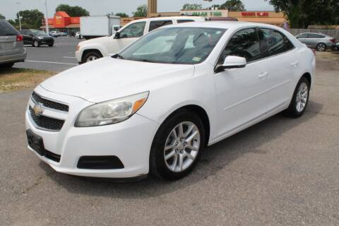 2013 Chevrolet Malibu for sale at Drive Now Auto Sales in Norfolk VA