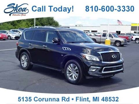 2016 Infiniti QX80 for sale at Jamie Sells Cars 810 in Flint MI