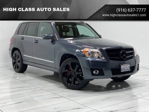 2010 Mercedes-Benz GLK for sale at HIGH CLASS AUTO SALES in Rancho Cordova CA