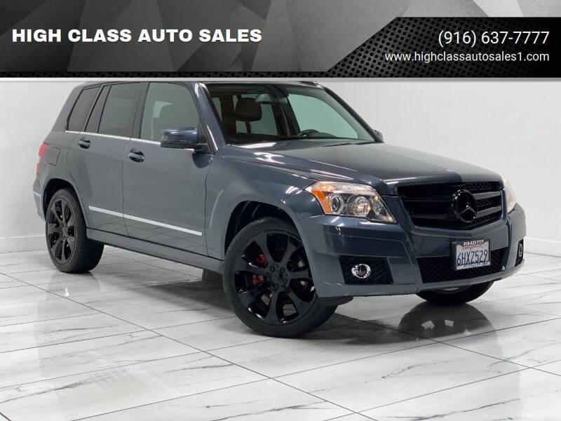 2010 Mercedes-Benz GLK for sale at HIGH CLASS AUTO SALES in Rancho Cordova CA