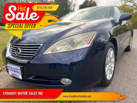 2009 Lexus ES 350 for sale at STRAIGHT MOTOR SALES INC in Paterson NJ