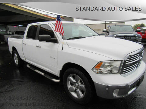 2014 RAM Ram Pickup 1500 for sale at Standard Auto Sales in Billings MT