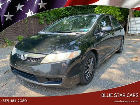 2009 Honda Civic for sale at Blue Star Cars in Jamesburg NJ