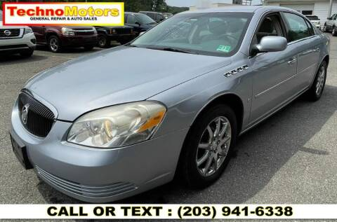 2006 Buick Lucerne for sale at Techno Motors in Danbury CT