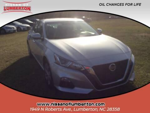 2020 Nissan Altima for sale at Nissan of Lumberton in Lumberton NC