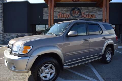 2001 Toyota Sequoia for sale at JW Auto Sales LLC in Harrisonburg VA