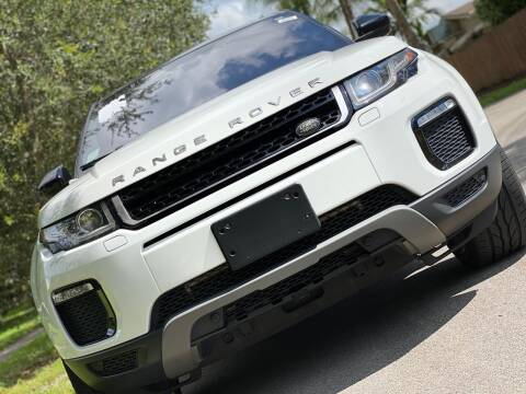 2016 Land Rover Range Rover Evoque for sale at HIGH PERFORMANCE MOTORS in Hollywood FL