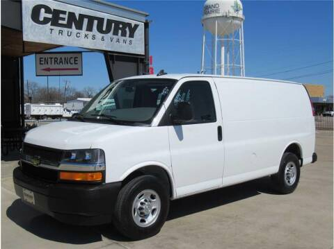 2019 Chevrolet Express Cargo for sale at CENTURY TRUCKS & VANS in Grand Prairie TX