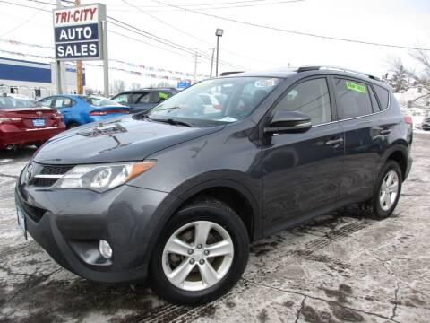 2013 Toyota RAV4 for sale at TRI CITY AUTO SALES LLC in Menasha WI