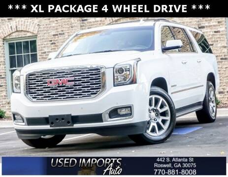 2020 GMC Yukon XL for sale at Used Imports Auto in Roswell GA