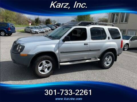2004 Nissan Xterra for sale at Karz INC in Funkstown MD
