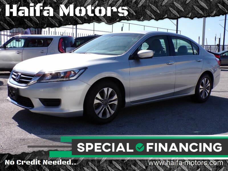 2014 Honda Accord for sale at Haifa Motors in Philadelphia PA