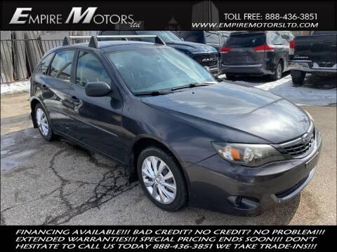 2008 Subaru Impreza for sale at Empire Motors LTD in Cleveland OH