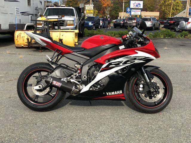 2014 Yamaha YZF-R6 for sale at All Star Auto  Cycle in Marlborough MA