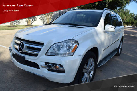 2011 Mercedes-Benz GL-Class for sale at American Auto Center in Austin TX