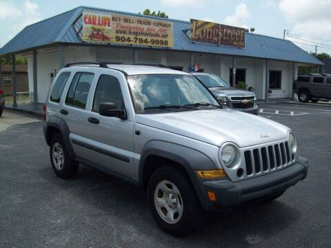 2007 Jeep Liberty for sale at LONGSTREET AUTO in Saint Augustine FL
