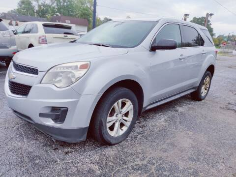 2012 Chevrolet Equinox for sale at The Car Cove, LLC in Muncie IN