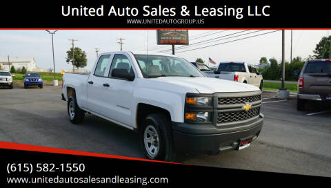 2014 Chevrolet Silverado 1500 for sale at United Auto Sales & Leasing LLC in La Vergne TN