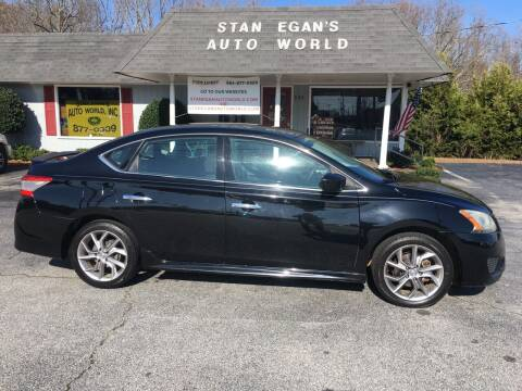 2014 Nissan Sentra for sale at STAN EGAN'S AUTO WORLD, INC. in Greer SC