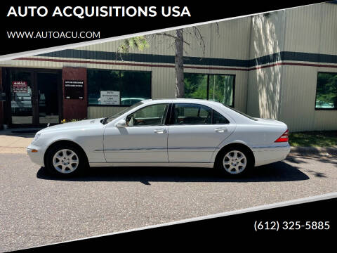 2000 Mercedes-Benz S-Class for sale at AUTO ACQUISITIONS USA in Eden Prairie MN