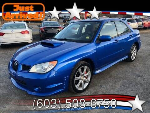 2007 Subaru Impreza for sale at J & E AUTOMALL in Pelham NH