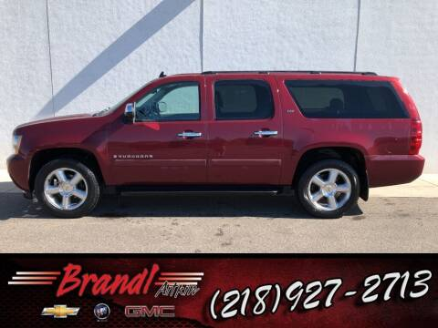 2008 Chevrolet Suburban for sale at Brandl GM in Aitkin MN