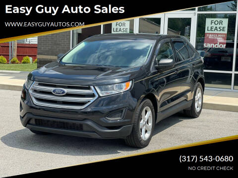 2015 Ford Edge for sale at Easy Guy Auto Sales in Indianapolis IN