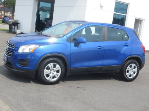 2016 Chevrolet Trax for sale at Price Auto Sales 2 in Concord NH