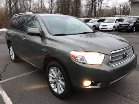2008 Toyota Highlander Hybrid for sale at USA Auto Sales in Kensington CT