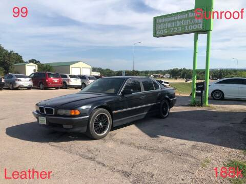 1999 BMW 7 Series for sale at Independent Auto in Belle Fourche SD