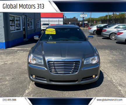 2011 Chrysler 300 for sale at Global Motors 313 in Detroit MI