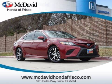 2018 Toyota Camry Hybrid for sale at DAVID McDAVID HONDA OF IRVING in Irving TX