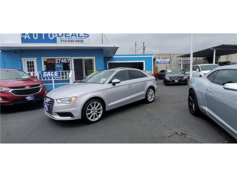 2015 Audi A3 for sale at AutoDeals in Hayward CA