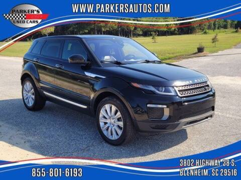 2017 Land Rover Range Rover Evoque for sale at Parker's Used Cars in Blenheim SC