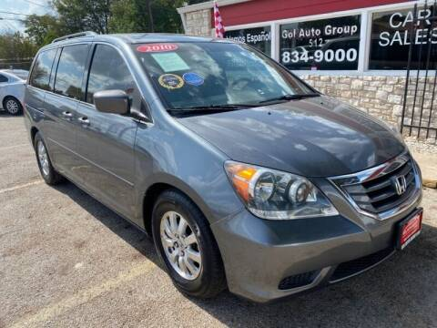 2010 Honda Odyssey for sale at GOL Auto Group in Austin TX