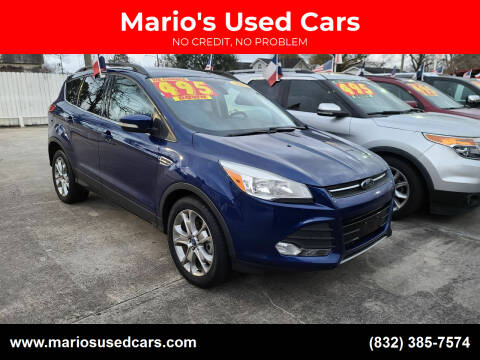 2013 Ford Escape for sale at Mario's Used Cars - South Houston Location in South Houston TX