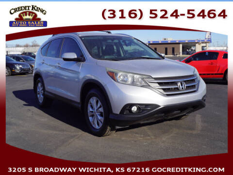 2012 Honda CR-V for sale at Credit King Auto Sales in Wichita KS