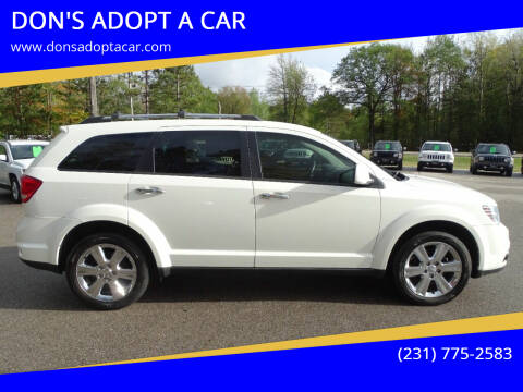2012 Dodge Journey for sale at DON'S ADOPT A CAR in Cadillac MI
