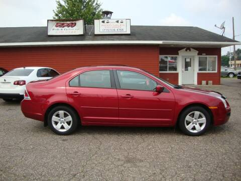 2006 Ford Fusion for sale at G and G AUTO SALES in Merrill WI