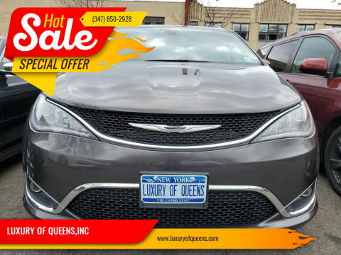 2019 Chrysler Pacifica for sale at LUXURY OF QUEENS,INC in Long Island City NY