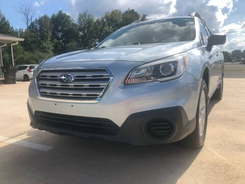 2017 Subaru Outback for sale at A&C Auto Sales in Moody AL