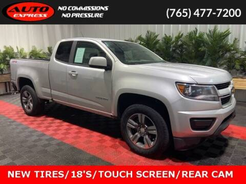 2018 Chevrolet Colorado for sale at Auto Express in Lafayette IN