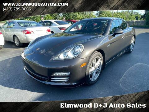 2011 Porsche Panamera for sale at Elmwood D+J Auto Sales in Agawam MA