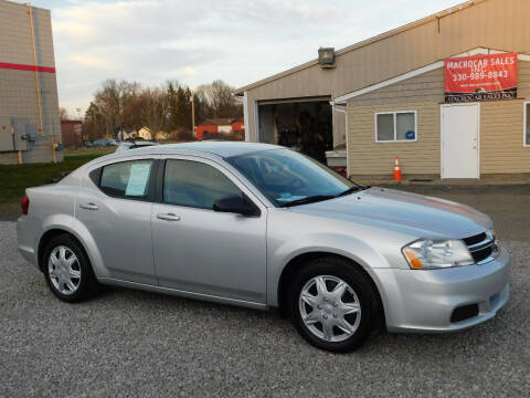 2011 Dodge Avenger for sale at Macrocar Sales Inc in Akron OH