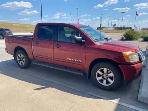 2013 Nissan Titan for sale at Stanley Chrysler Dodge Jeep Ram Gatesville in Gatesville TX